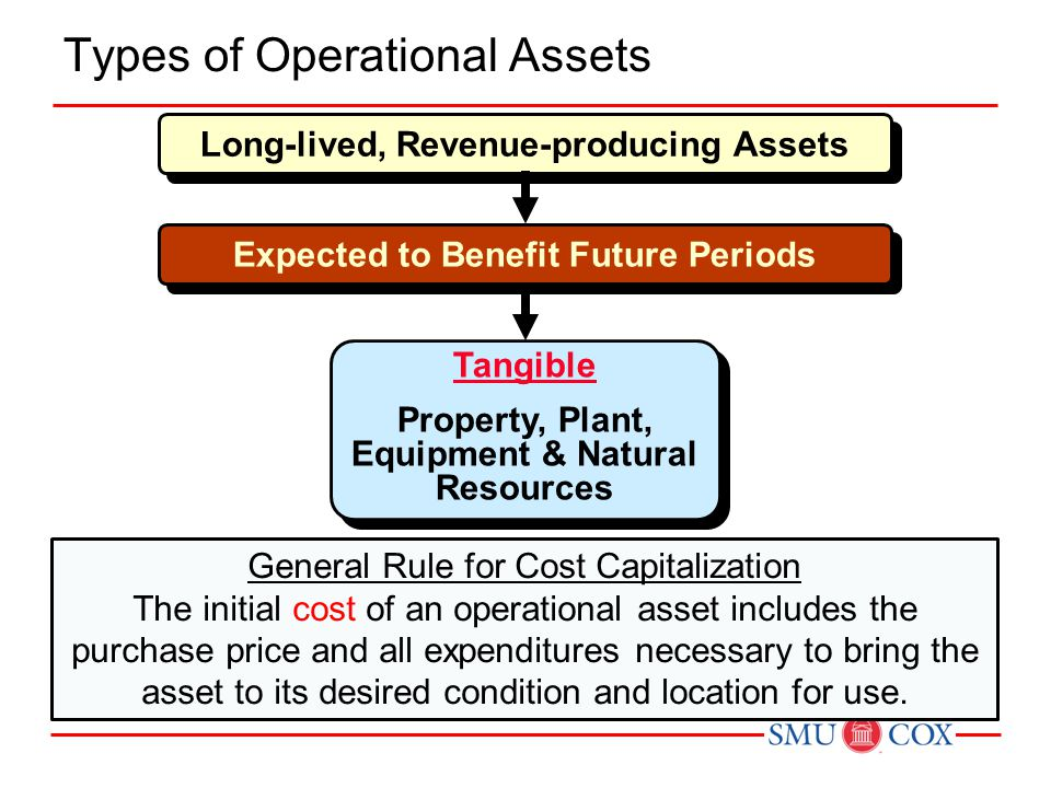 Types of Operational Assets