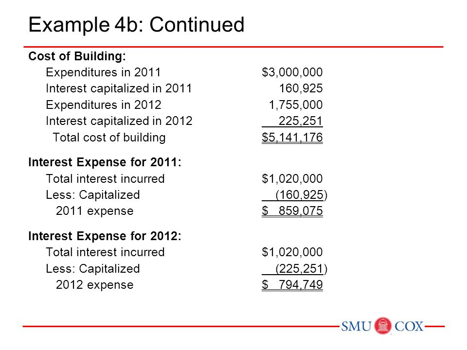 Acct 3311 - Class 16 Example 4b: Continued.