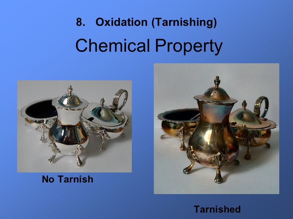 Oxidation (Tarnishing)
