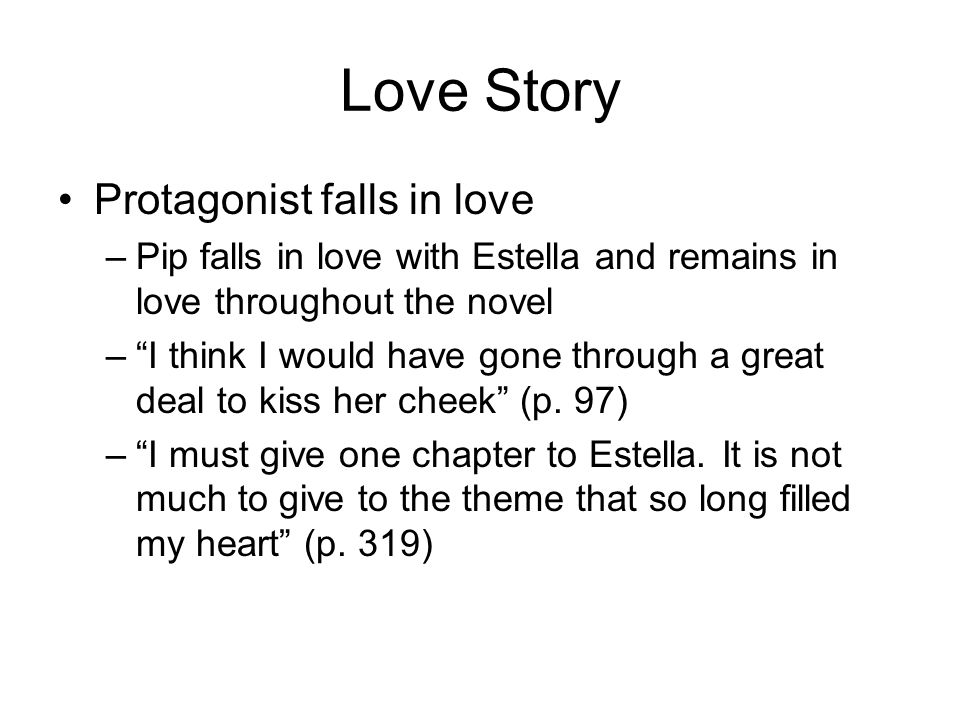 Love Story Protagonist falls in love