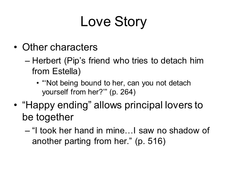Love Story Other characters