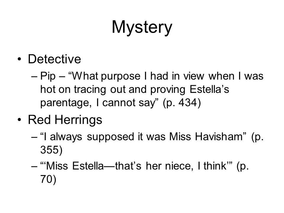 Mystery Detective Red Herrings