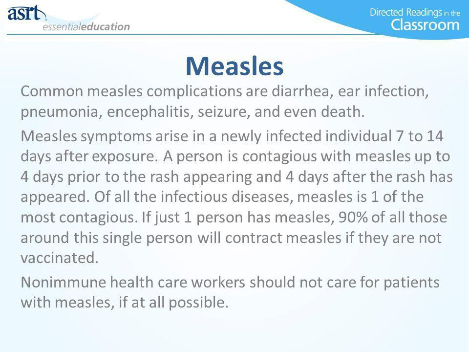 the symptoms and complications of measles Measles also known as rubeola or morbilli is an infection caused by the rubeola virus find out more about measles symptoms, treatments and vaccine get information, videos and facts about mumps on health-wiki | practo.