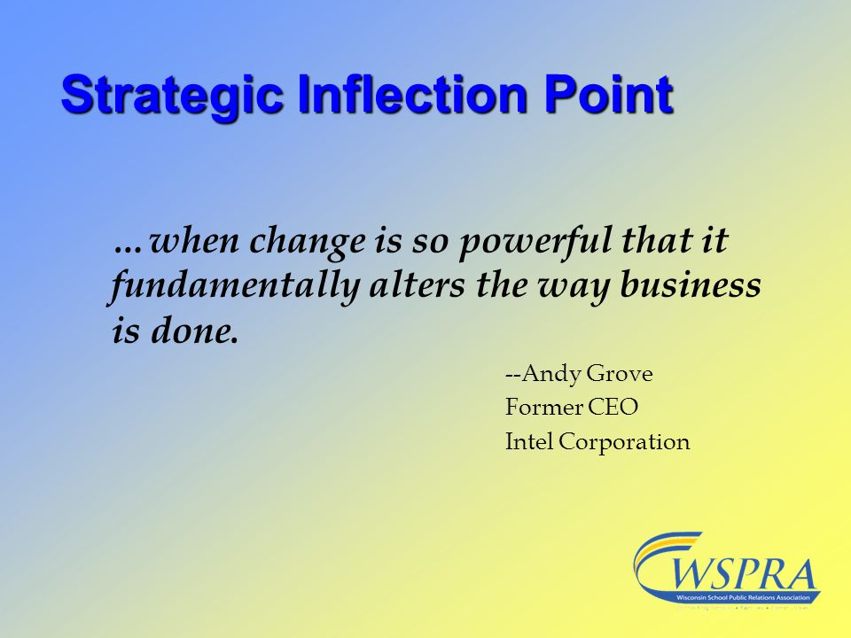 Strategic Inflection Point