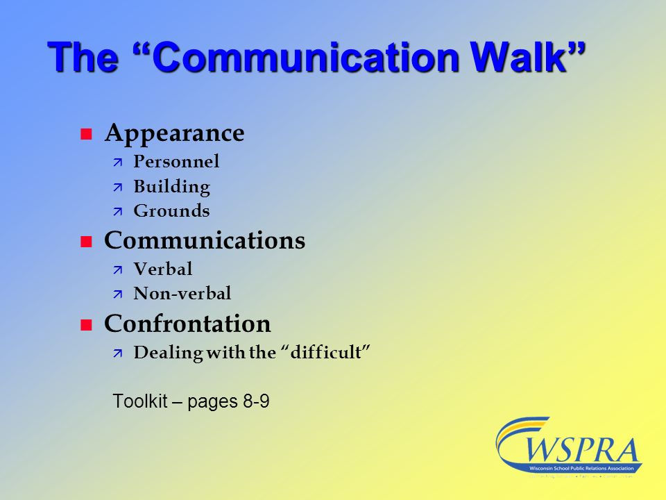 The Communication Walk