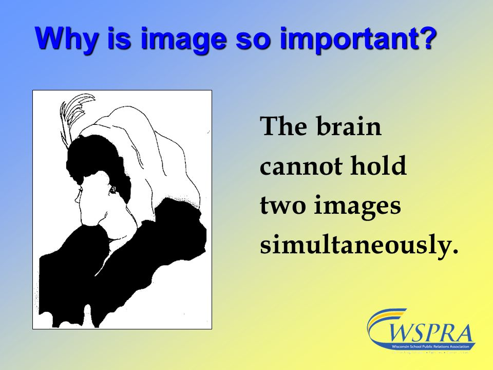 Why is image so important