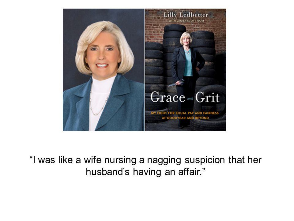 I was like a wife nursing a nagging suspicion that her husband's having an affair.