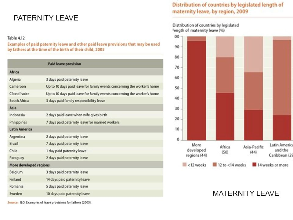 PATERNITY LEAVE Krystal Slide # MATERNITY LEAVE