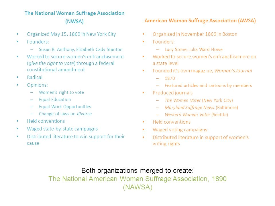 Both organizations merged to create: