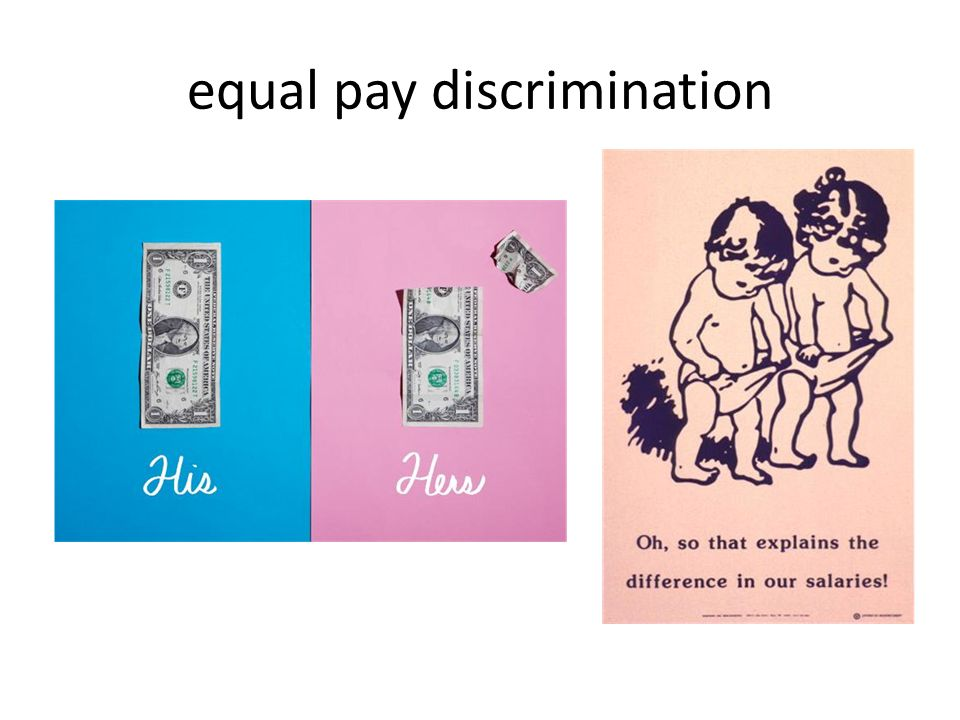 equal pay discrimination