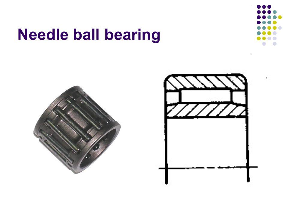 Needle ball bearing