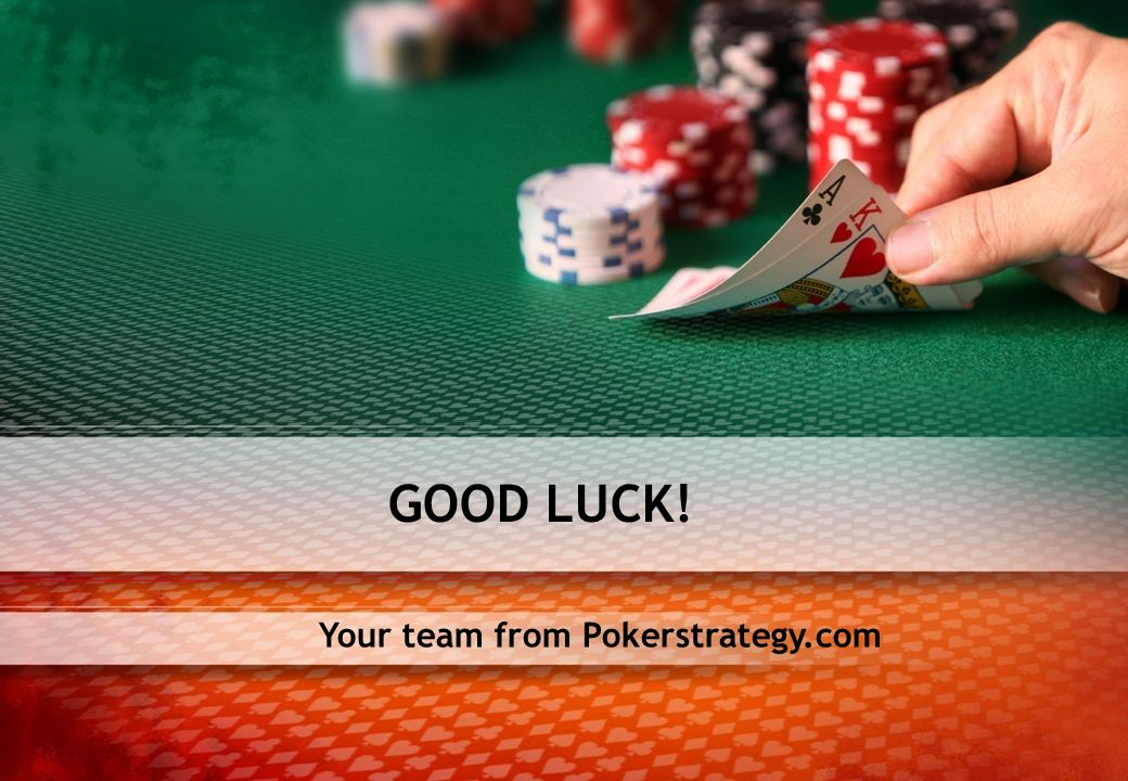Your team from Pokerstrategy.com