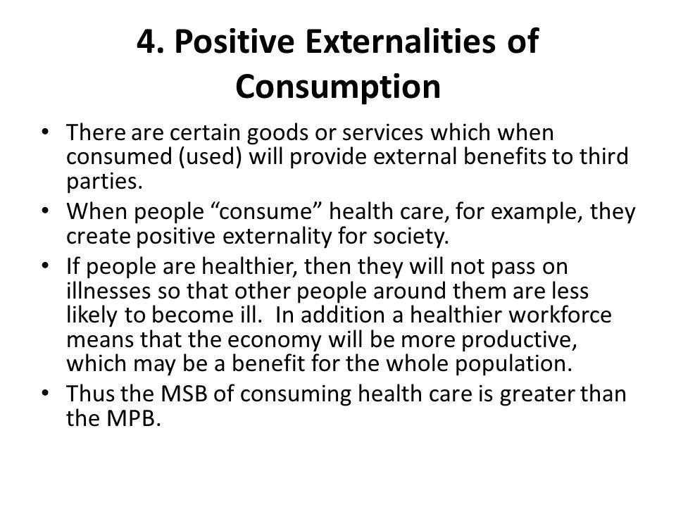 4. Positive Externalities of Consumption