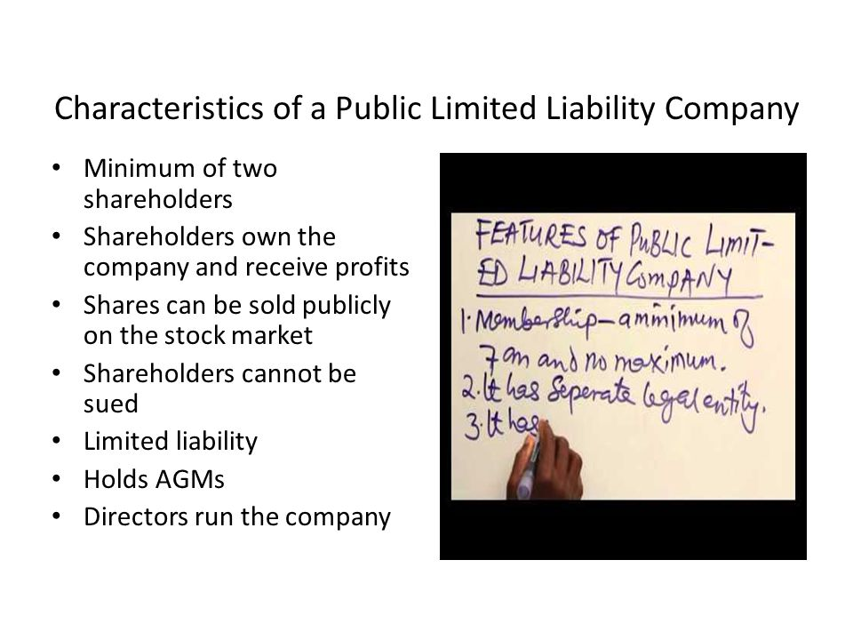 the characteristics of a public company The staff draft highlights certain characteristics of the public sector that may have  an  objectives and users qualitative characteristics and reporting entity,.