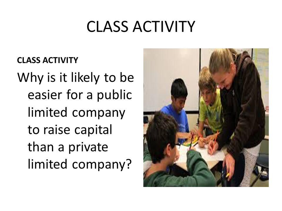 CLASS ACTIVITY CLASS ACTIVITY.