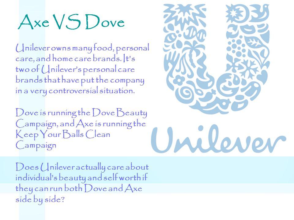 Axe VS Dove