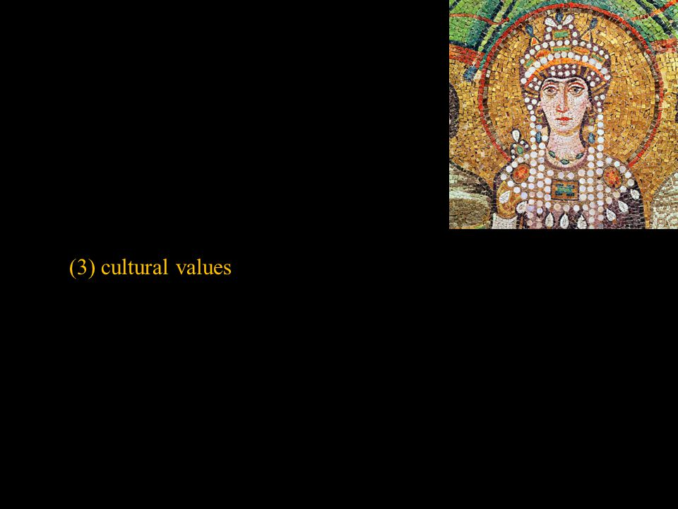 (3) cultural values Slide concept by William V. Ganis, PhD