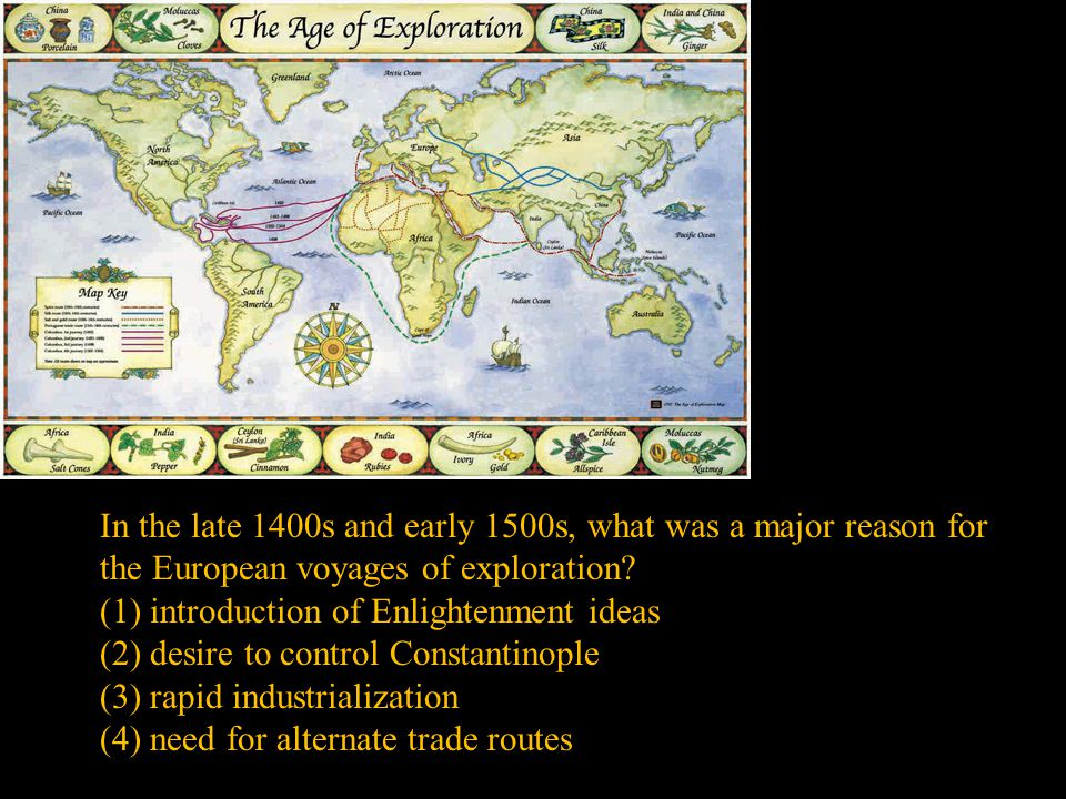 (1) introduction of Enlightenment ideas