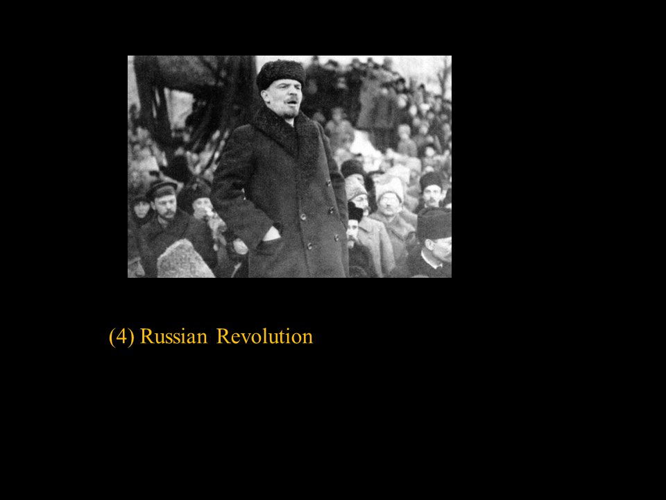 (4) Russian Revolution Slide concept by William V. Ganis, PhD