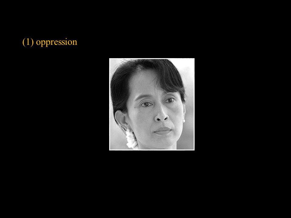 (1) oppression Slide concept by William V. Ganis, PhD