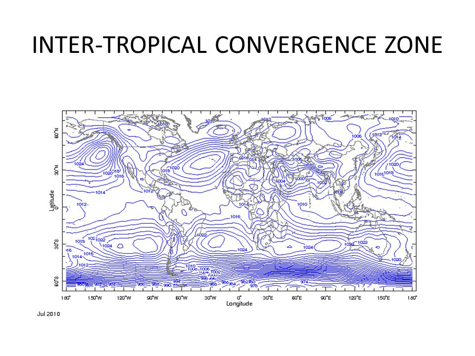 INTER-TROPICAL CONVERGENCE ZONE