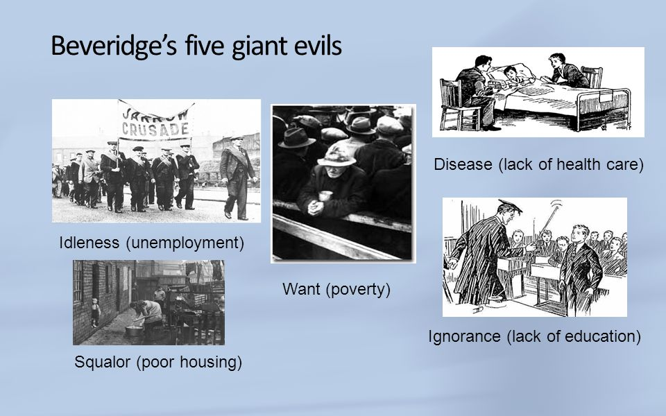 Beveridge's five giant evils
