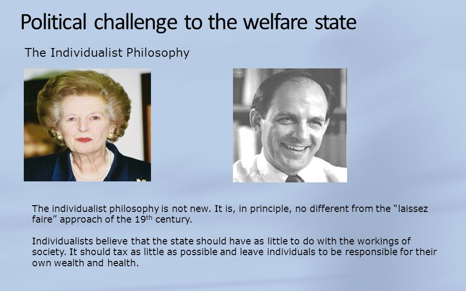 Political challenge to the welfare state