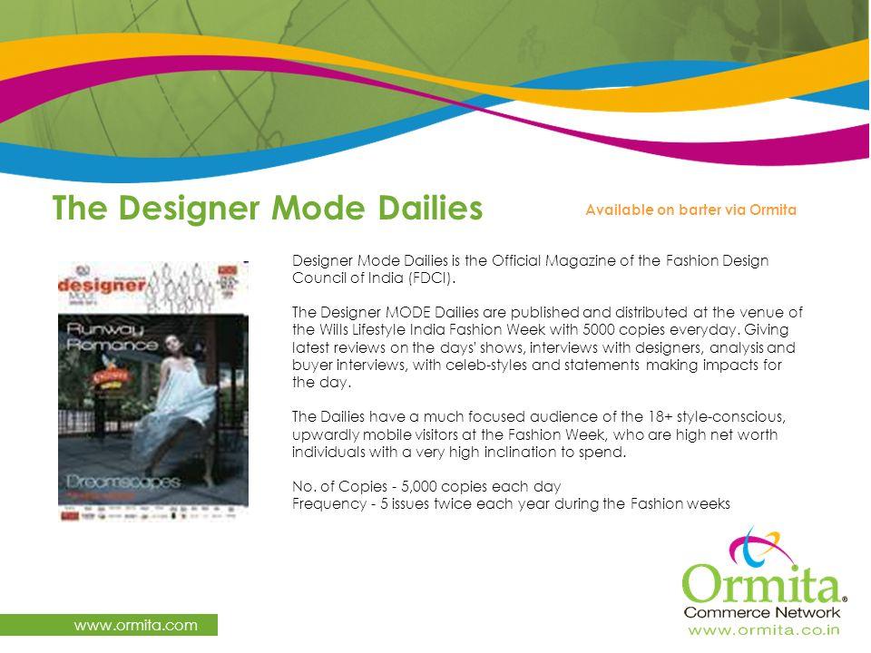The Designer Mode Dailies