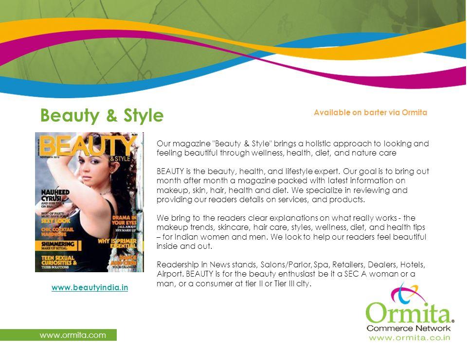 Beauty & Style www.ormita.com Available on barter via Ormita