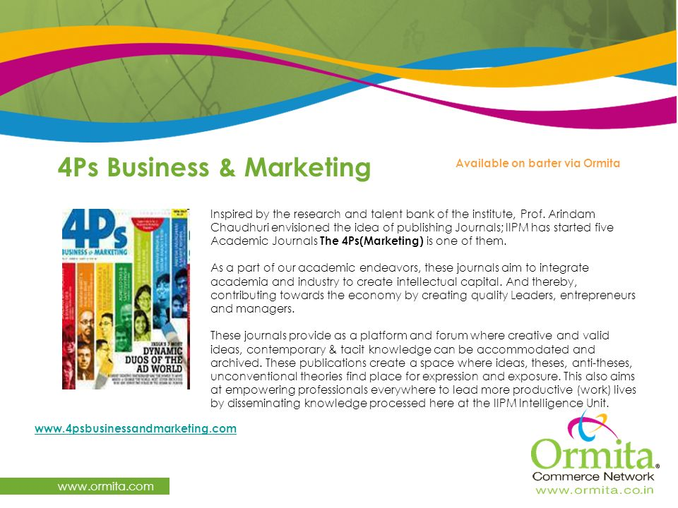4Ps Business & Marketing