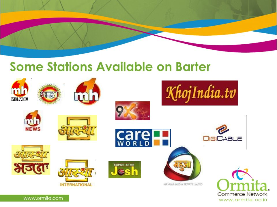 Some Stations Available on Barter