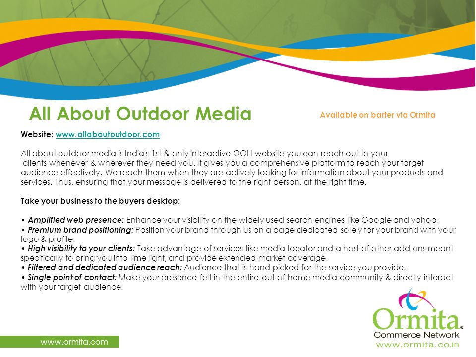 All About Outdoor Media