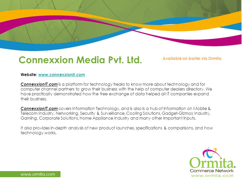 Connexxion Media Pvt. Ltd.
