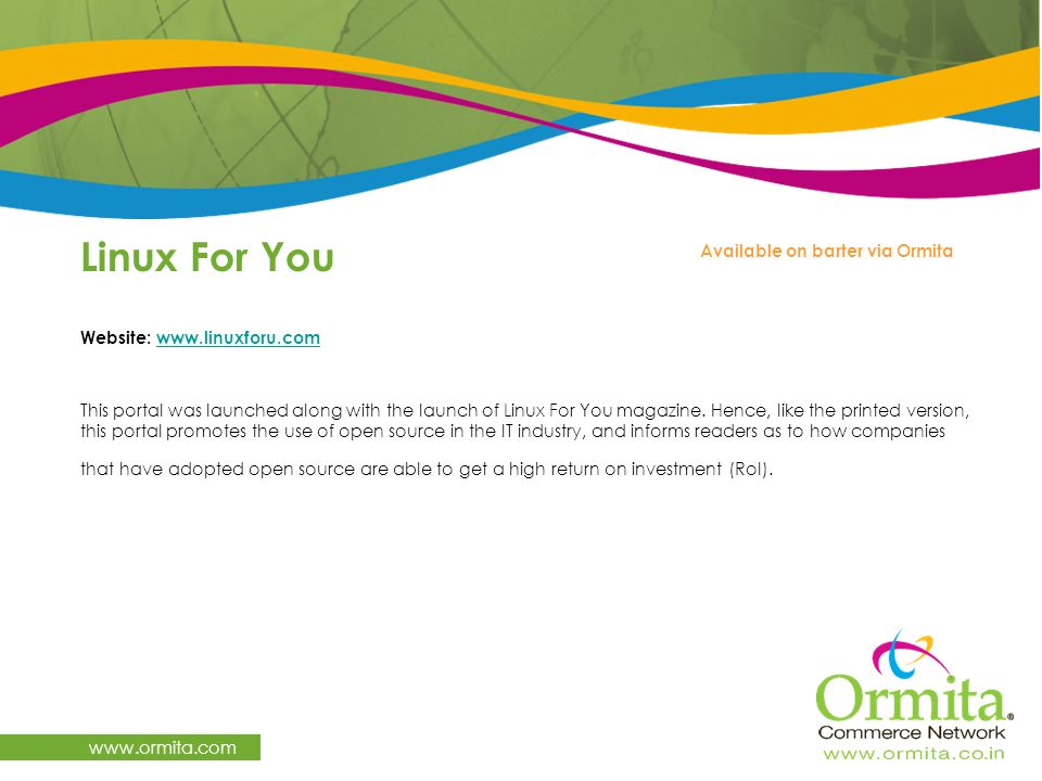 Linux For You   Available on barter via Ormita