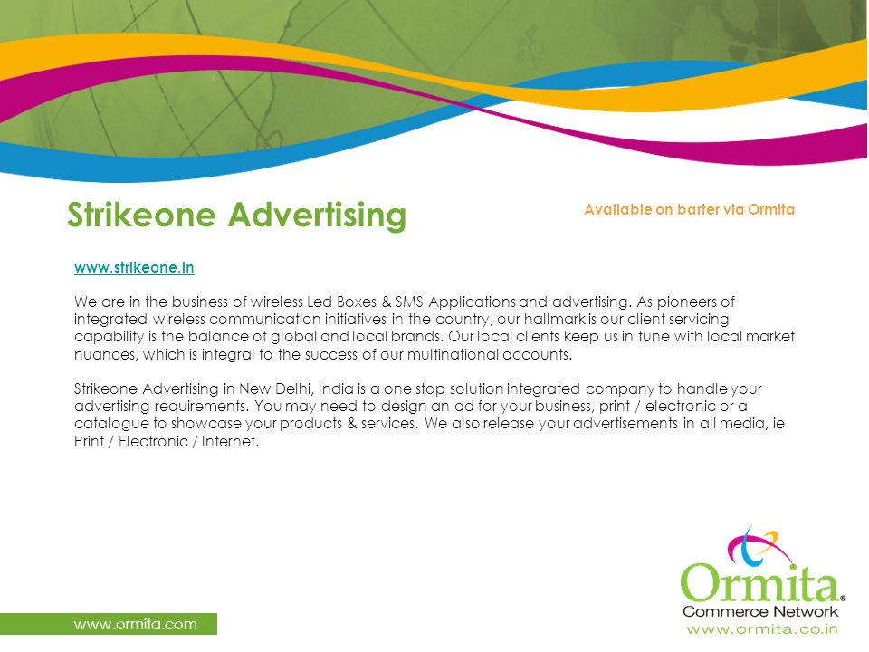 Strikeone Advertising