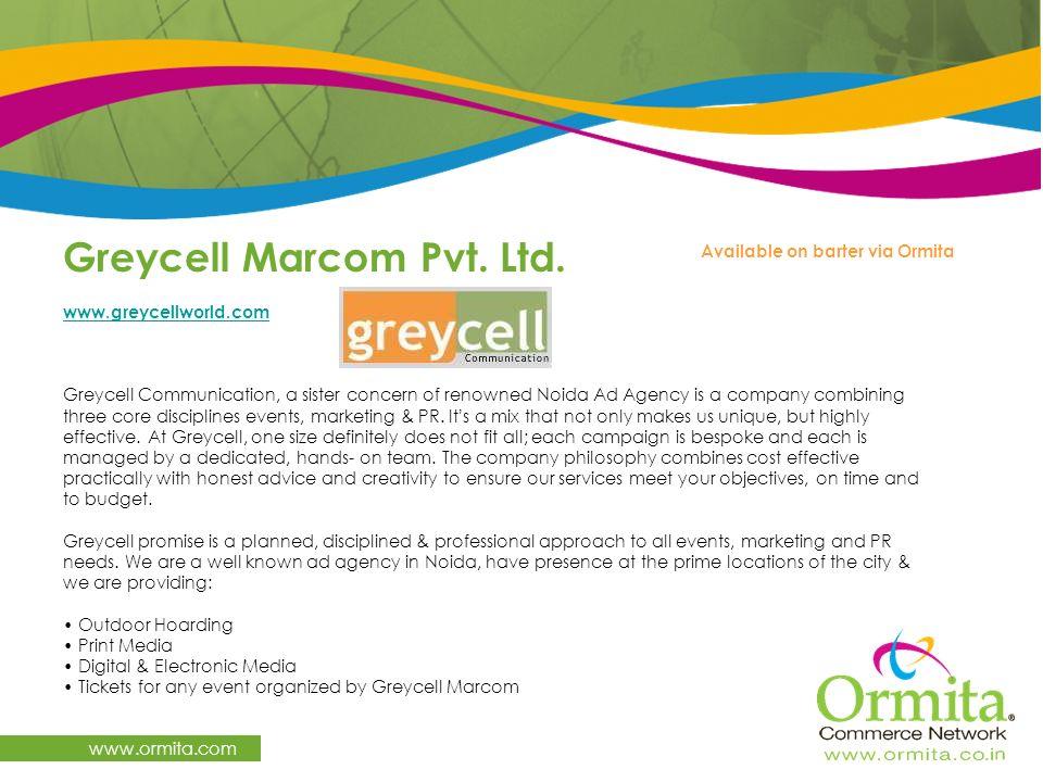 Greycell Marcom Pvt. Ltd.