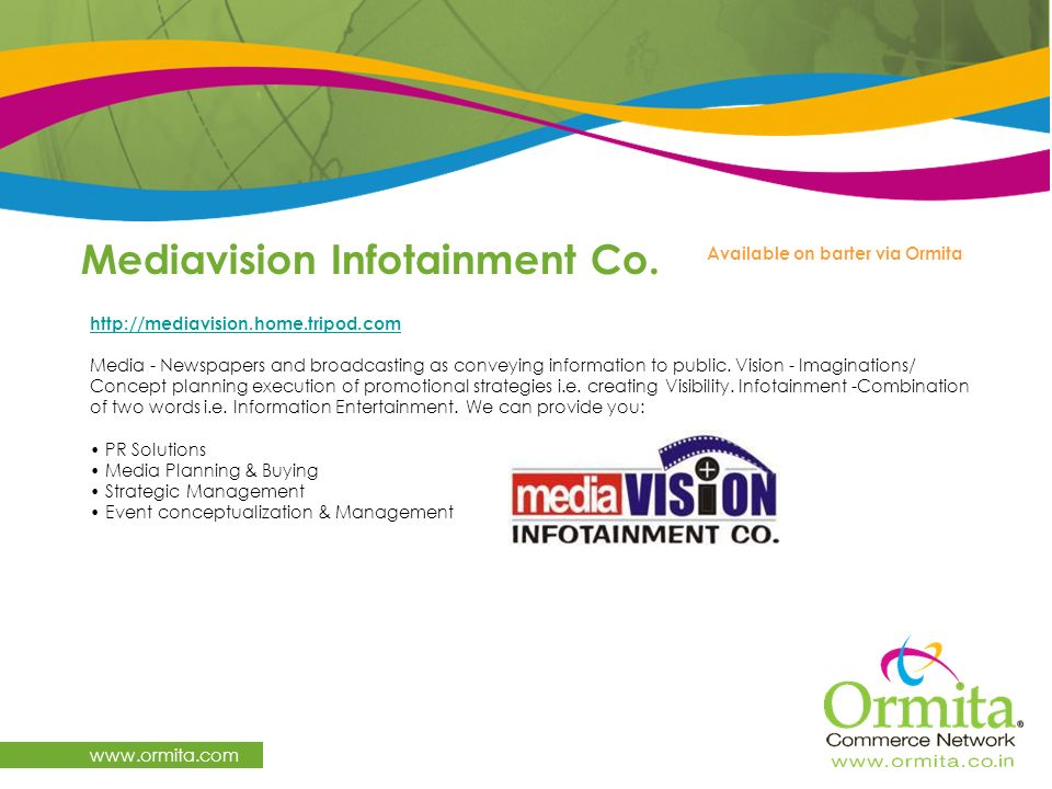Mediavision Infotainment Co.