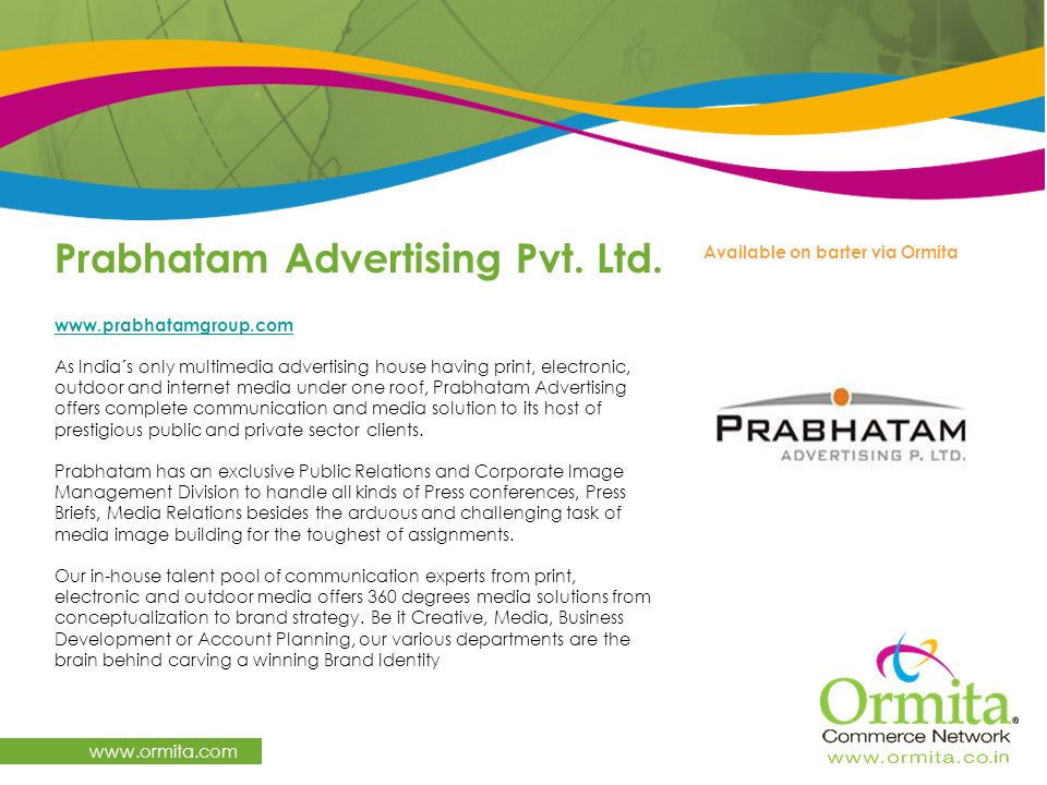 Prabhatam Advertising Pvt. Ltd.