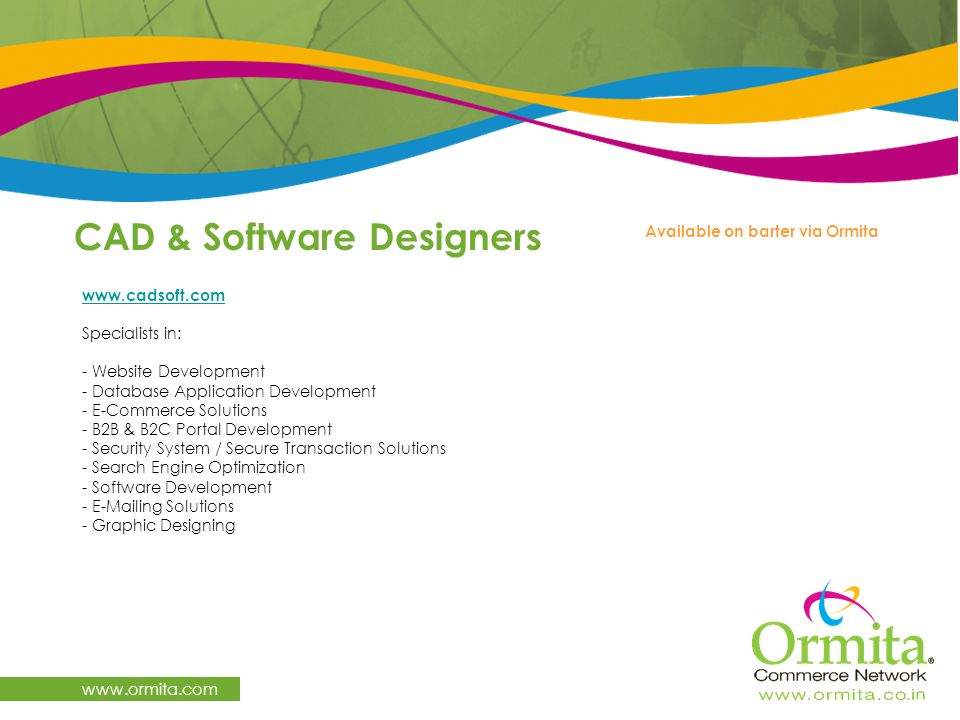 CAD & Software Designers