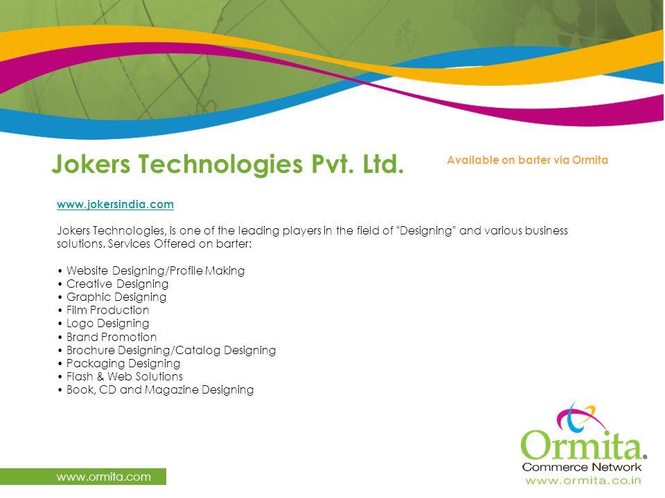 Jokers Technologies Pvt. Ltd.
