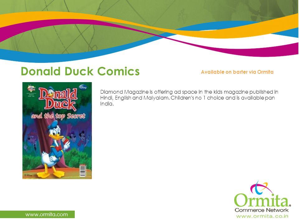 Donald Duck Comics www.ormita.com Available on barter via Ormita