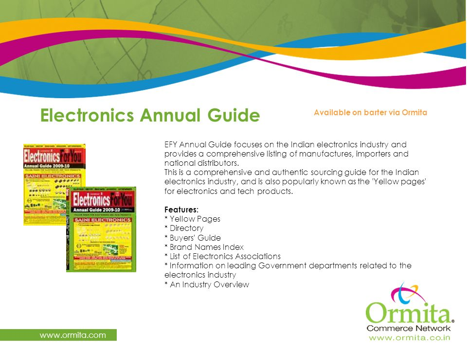 Electronics Annual Guide
