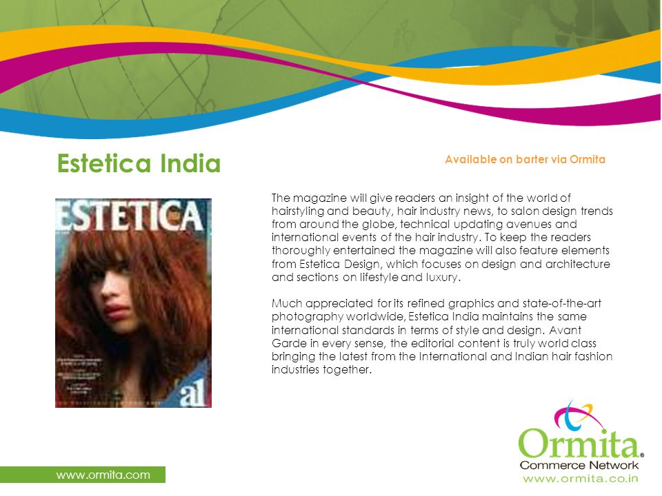 Estetica India   Available on barter via Ormita