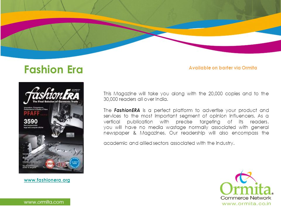 Fashion Era www.ormita.com