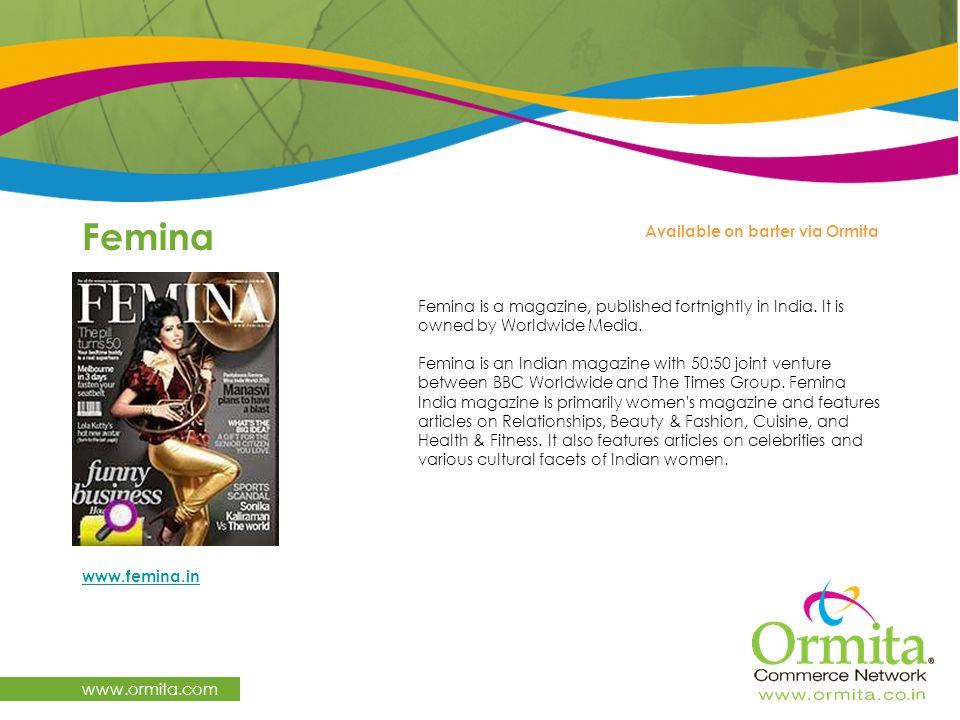 Femina www.ormita.com Available on barter via Ormita