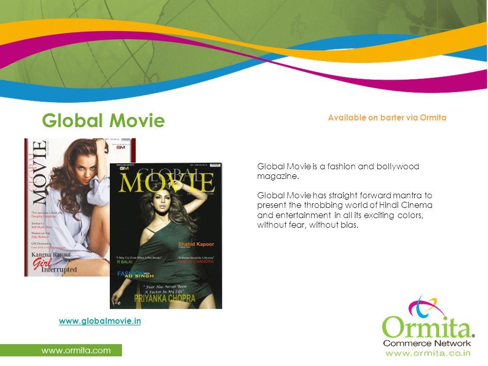 Global Movie www.ormita.com Available on barter via Ormita
