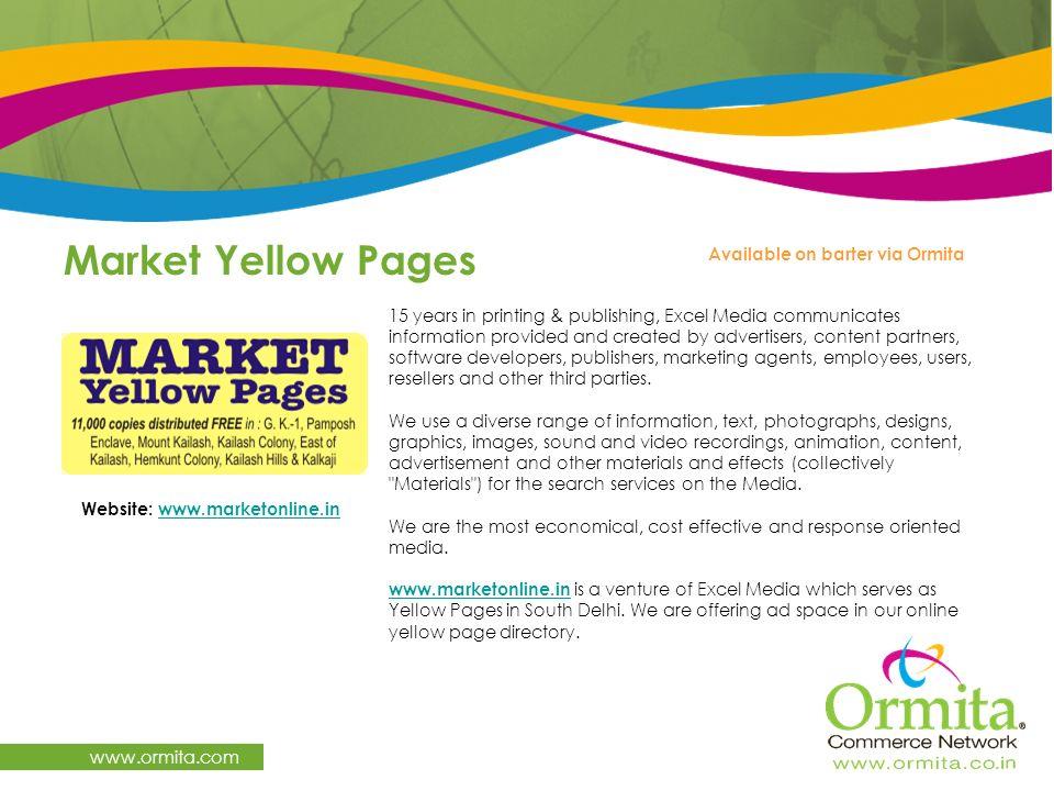 Website: www.marketonline.in