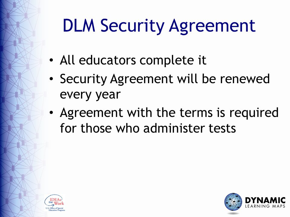 Test Security In The Dynamic Learning Maps Alternate Assessment
