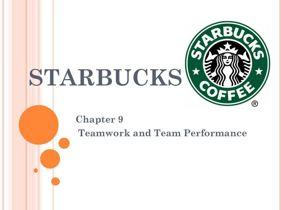 Chapter 9 Teamwork and Team Performance