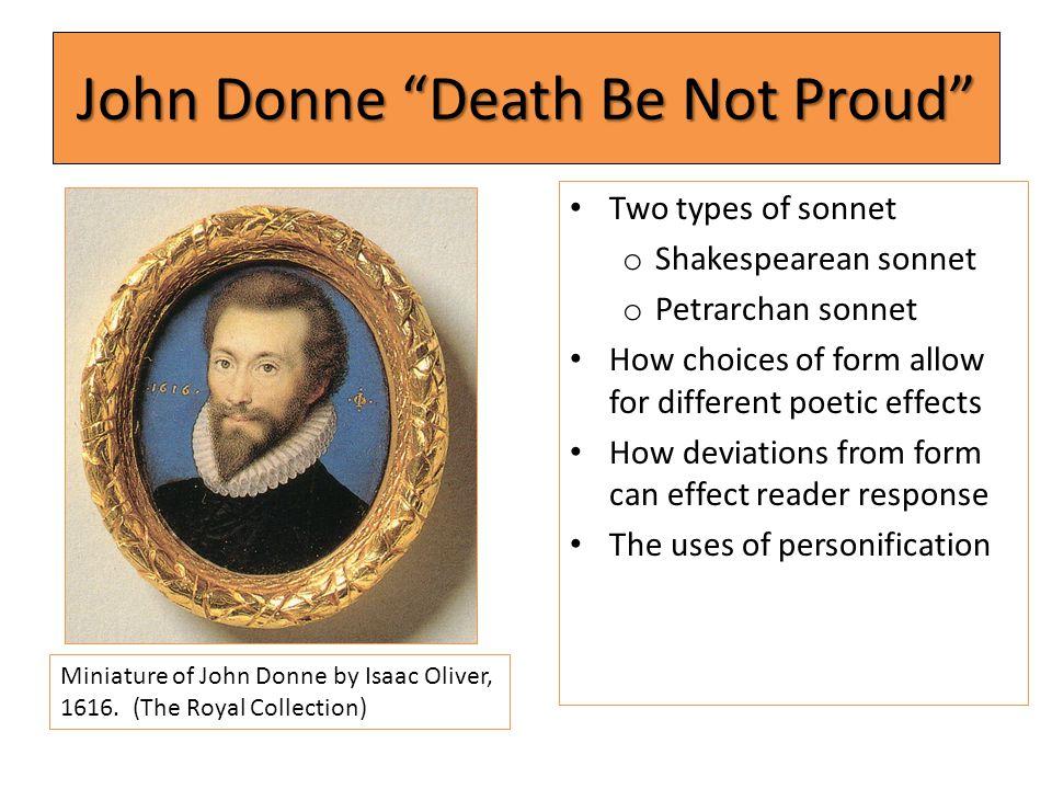 John Donne Death Be Not Proud